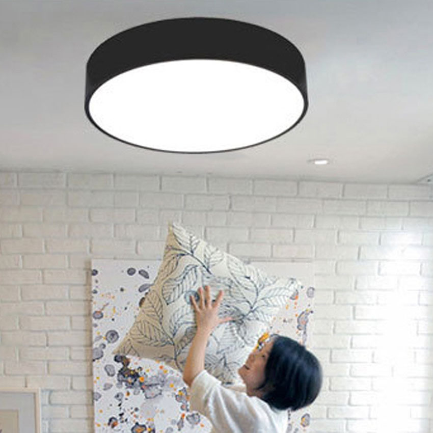 Fashion simplicity LED Ceiling Light Dia 25-78cm round shape bedroom LED light Ceiling Lamp balcony lamp with remote control