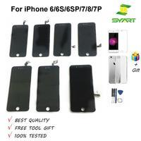 SYART Geen Dode Pixel Grade AAA Lcd Touch Screen Digitizer Voor iphone 6S Lcd-scherm pantalla Voor iphone 6 6S 6SP 7 7P Lcd 'S