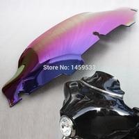 1 Pcs Batwing Iridium 6 Wave Windshield Windscreen For Harley FLHT FLHTC FLHX Touring 1996 2013