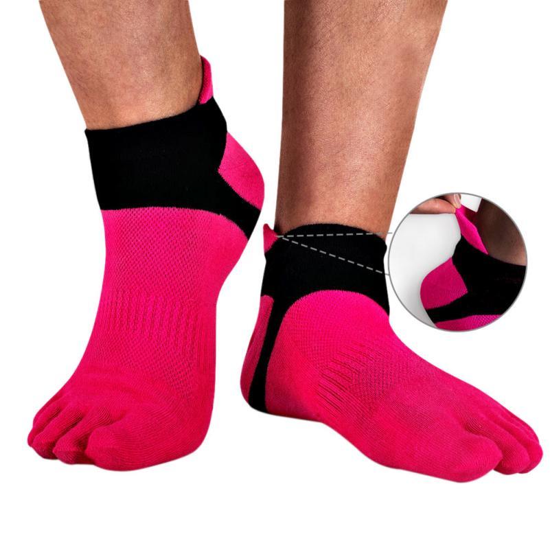 2018 Hot Sale 1 Pair Men Mesh Meias Five Finger Toe Socks Good Elasticity Men socks #ZJ