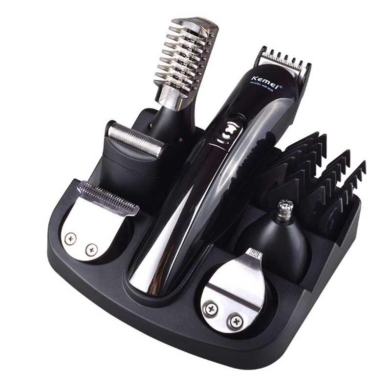 Professionnel Électrique Tondeuse À Cheveux Rechargeable Tondeuse Coupe De Cheveux Machine À Couper Les Barbe Trimère Étanche