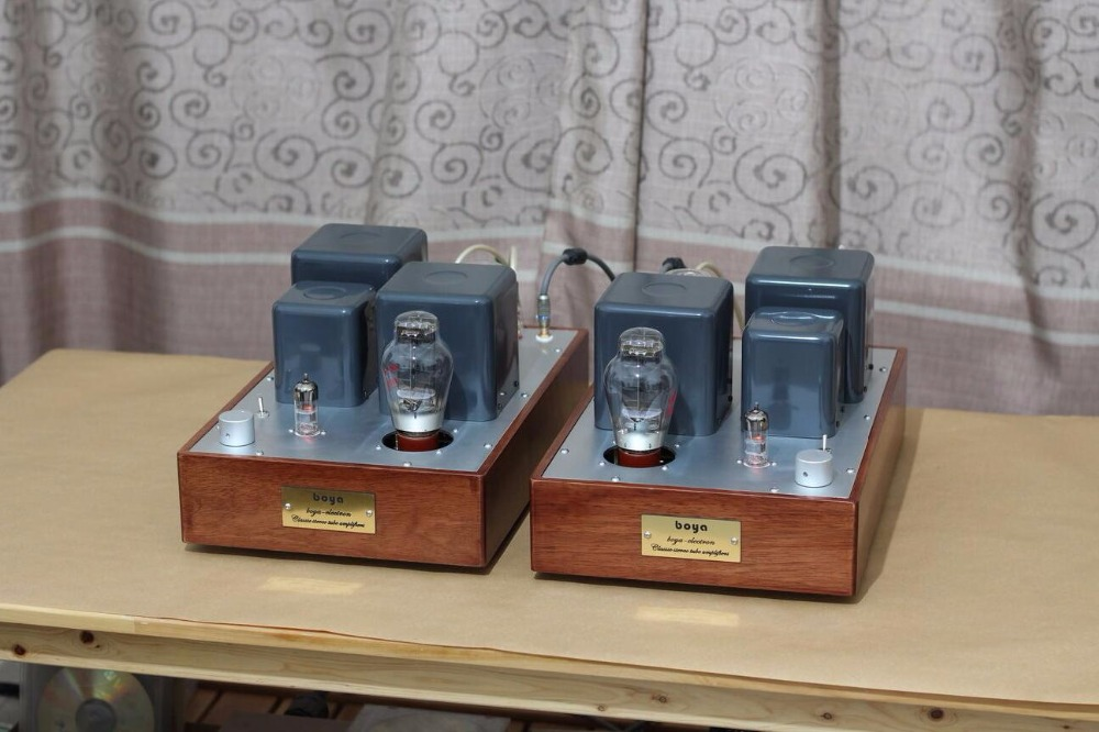 где купить  Douk Audio E280F Push 300B Mono Block Single-ended Tube Amplifier Stereo Integrated Amp Finished Product  по лучшей цене