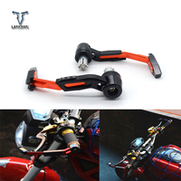 Universal 22mm Motorcycle Motocross Handlebar Clutch Brake Lever Protect Guard for Kawasaki W800 ZZR1200DR DRZ RM RMX RMZ Dirt