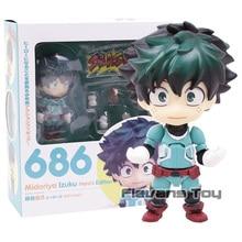 My Hero Academia Nendoroid Bakugo Katsuki 705 Midoriya Lzuku 686 PVC Action Figure Model Toy Doll Gift