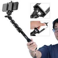 Yunteng 188 portátil extensible Polo telescópico Selfies Stick Cámara monopié trípode Para Selfie Para iPhone XS Max XR X