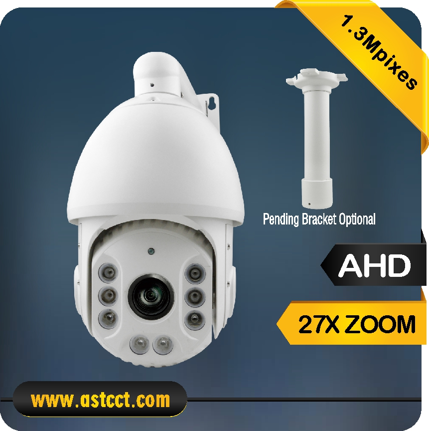 100% Metal Hot Surveillance Camera 1.3mp AHD PTZ Camera IR High Speed Dome Camera Night Vision IP66 4 in 1 ir high speed dome camera ahd tvi cvi cvbs 1080p output ir night vision 150m ptz dome camera