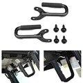 2x Черная передняя жесткая Фиксатор ручки для 97-06 Jeep Wrangler TJ Unlimited