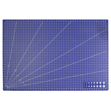 1 шт. A3 ПВХ Прямоугольник линии сетки коврик для резки инструмент Пластик инструменты для рисования 45 см * 30 см