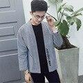 Повседневная Куртка Японский Стиль Кимоно Кардиган Женщины Мужчины Уличная Мода Пальто Мужской Хип-Хоп Пальто Плюс Размер М-5XL, Q253