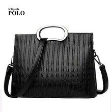 Genuine leather Women handbags 2018 New bag ladies classic casual fashion  handbag Crossbody Bag female hand 24adf0e0b2c5