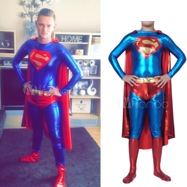 High Quality Adult/Children Mens/Womens Halloween Red Superman Cosplay Costumes Lycra Zentai SuperHero  sc 1 st  AliExpress.com & High Quality Adult/Children Mens/Womens Halloween Red Superman ...
