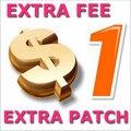 Pagamento adicional sobre A Ordem Taxa Extra Taxa de Envio a Despesa do Transporte de Diferença de Preço