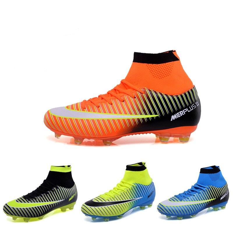 Profesional de los hombres zapatos de fútbol Zapatos niños zapatos de fútbol  de césped tacos Superfly ae42ce2a1ecd8