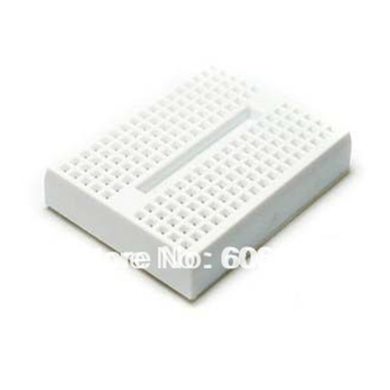 10pcs/lot Mini Solderless Prototype Breadboard 170 Tie-points Protoboard For Arduino Experimental Plate Test Board