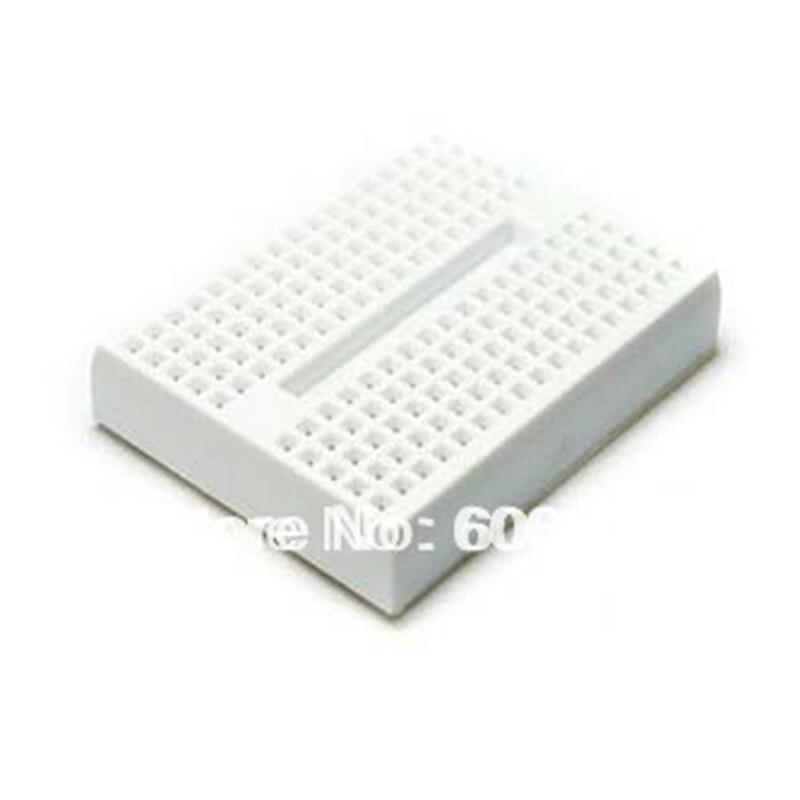10pcs/lot Mini Solderless Prototype Breadboard 170 Tie-points Protoboard For Arduino Experimental Plate Test Board