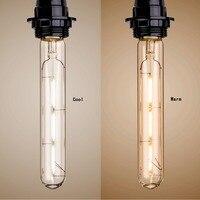 T185 Bulb Modern LED Bulb Vintage E26 E27 Home Light Long Tube Edison Filament