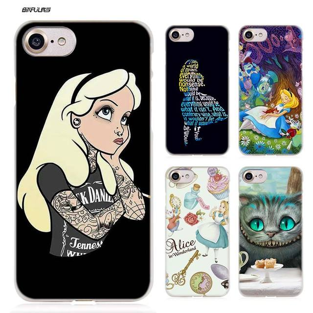 coque iphone 8 alice in wonderland
