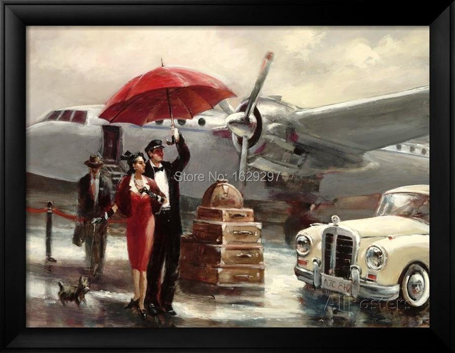 BEA Vickers Viscount London Retro Flight Paris Design T-Shirt