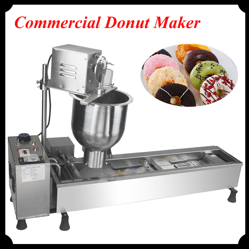 Fully-Automatic Multi-Function Donut Making Machine Commercial Use High Quality Stainless Steel Donut Maker for asus x550cc x550cl laptop motherboard x550cc mainboard rev2 0 with graphics card i3 cpu onboard freeshipping 100