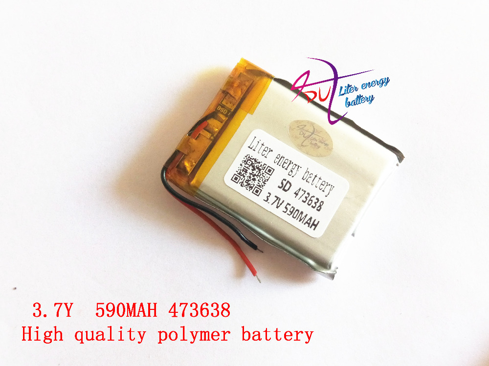 473638 3.7V 590mah Liter energy batte Lithium polymer Battery With Protection Board For MP3 MP4 MP5 GPS Glass Digital Product