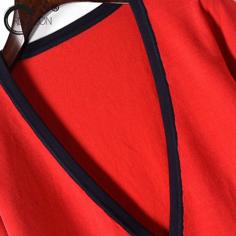 Pieles cuello Chaquetas Tops Cardigan Chaqueta Negro Bolsillo Punto Ordeeson Animales De V Delgado Runway rojo Diseñadores Suéteres Primavera Negro 2018 SqOEwY