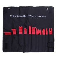 Factory Price 11pcs Car Door Trim Panel Molding Clip Retainer Removal Pry Tool Kit Auto Tools