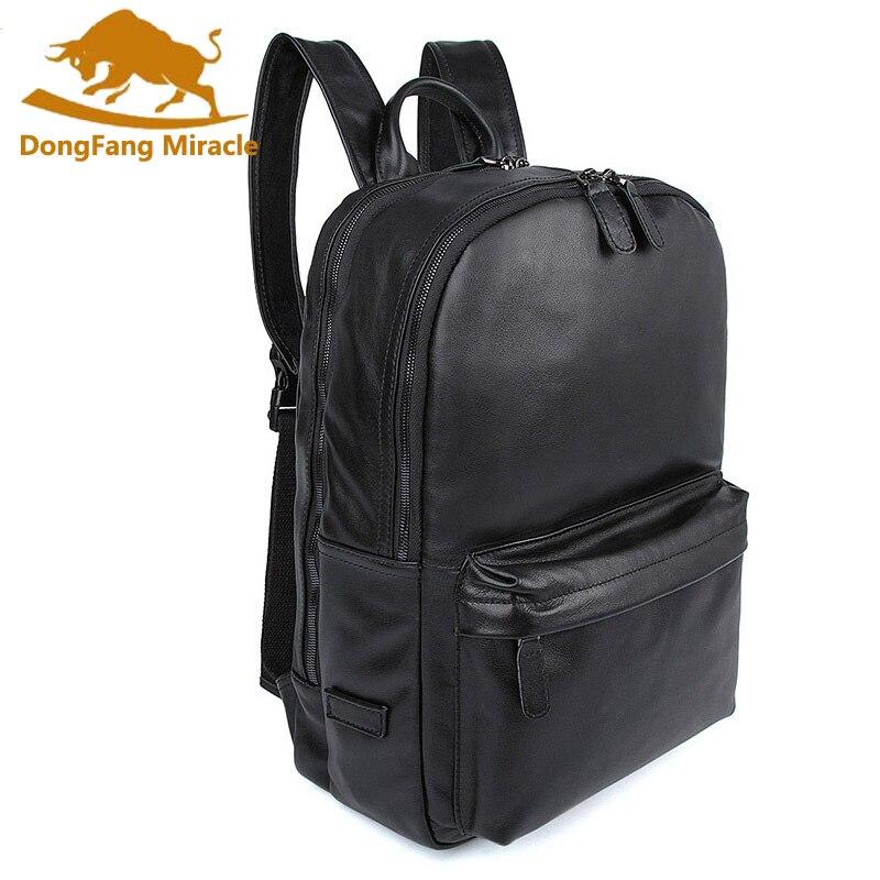 100% Genuine Leather Backpack Unisex Business bag schoolbag fashion women backpacks for men Leather man backpacks genuine leather backpack 100