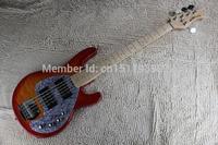 Free Shipping New Factory Music Man StingRay5 Active Pickups Bass Guitar Music Man 5 Strings Bass