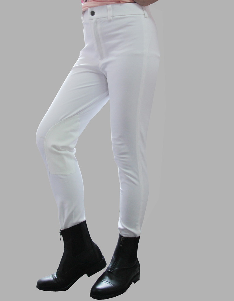 Horse Riding Equipment Equestrian Breeches Soft Breathable Skinny Tight Horse Riding Pants Chaps For Children Unisex Saddle