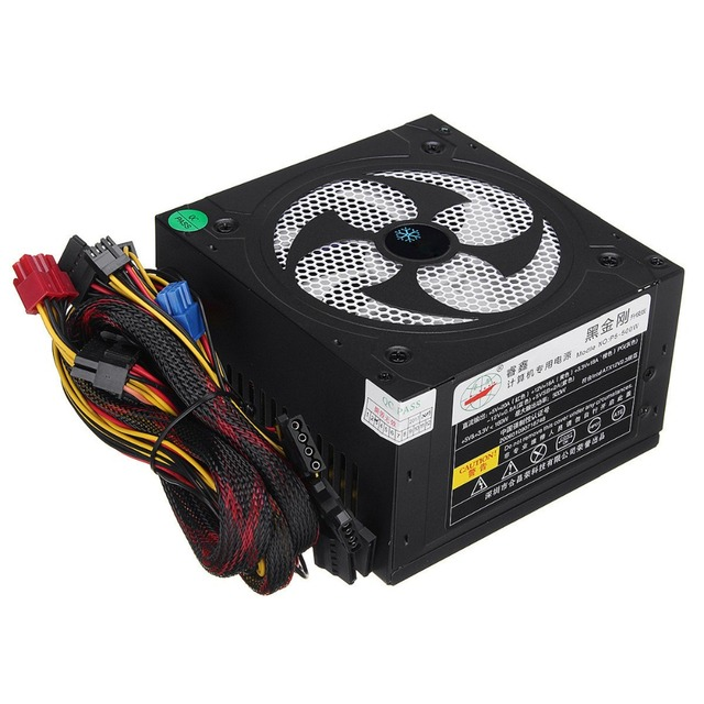 Desktop Power 500W Quiet Power Switching 12V ATX BTC Power Supply 1