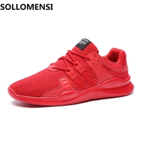 New Tide Men S Mesh Breathable Running Shoes Male Shoes Men Sneakers Lace Up Comfortable Shoes