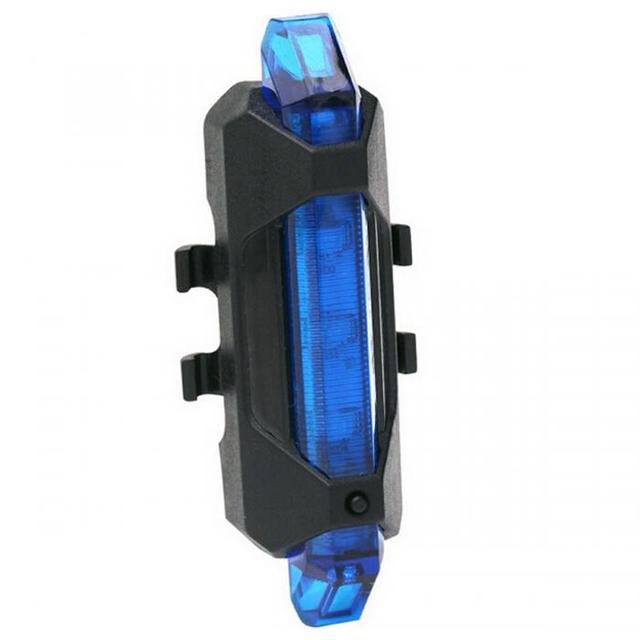 Przenośny USB ładowalny rower rowerowy ogon tylne światło ostrzegawcze światła Taillight Lampa Super Bright ASD88 tanie i dobre opinie Baterii Ramki CAR-partment 37759 Jako