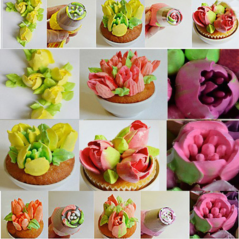 Flower-Shaped Frosting Nozzles 2