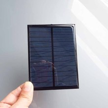 2PCS X 6V 1.1W 180mA Mini monocrystalline polycrystalline solar Panel charge