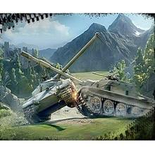 DIY 5D полный картина, вышитая бисером из Алмазная вышивка танком World Алмазная мозаика украшения подарки ZH
