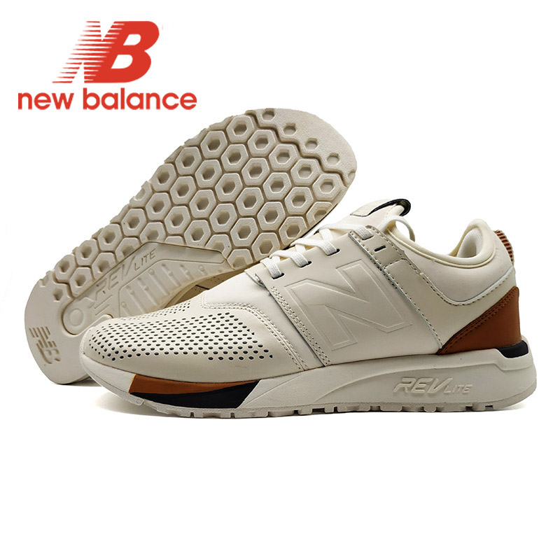 Beige NEW BALANCE NB247 chaussures de jogging pour homme chaussures de course respirantes marron noirBeige NEW BALANCE NB247 chaussures de jogging pour homme chaussures de course respirantes marron noir