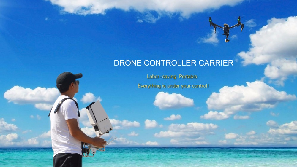 PGY Drone controller carrier RC remote control DJI phantom 2 3 4 inspire 1 Futaba ronin M Accessories support Shoulder Holder