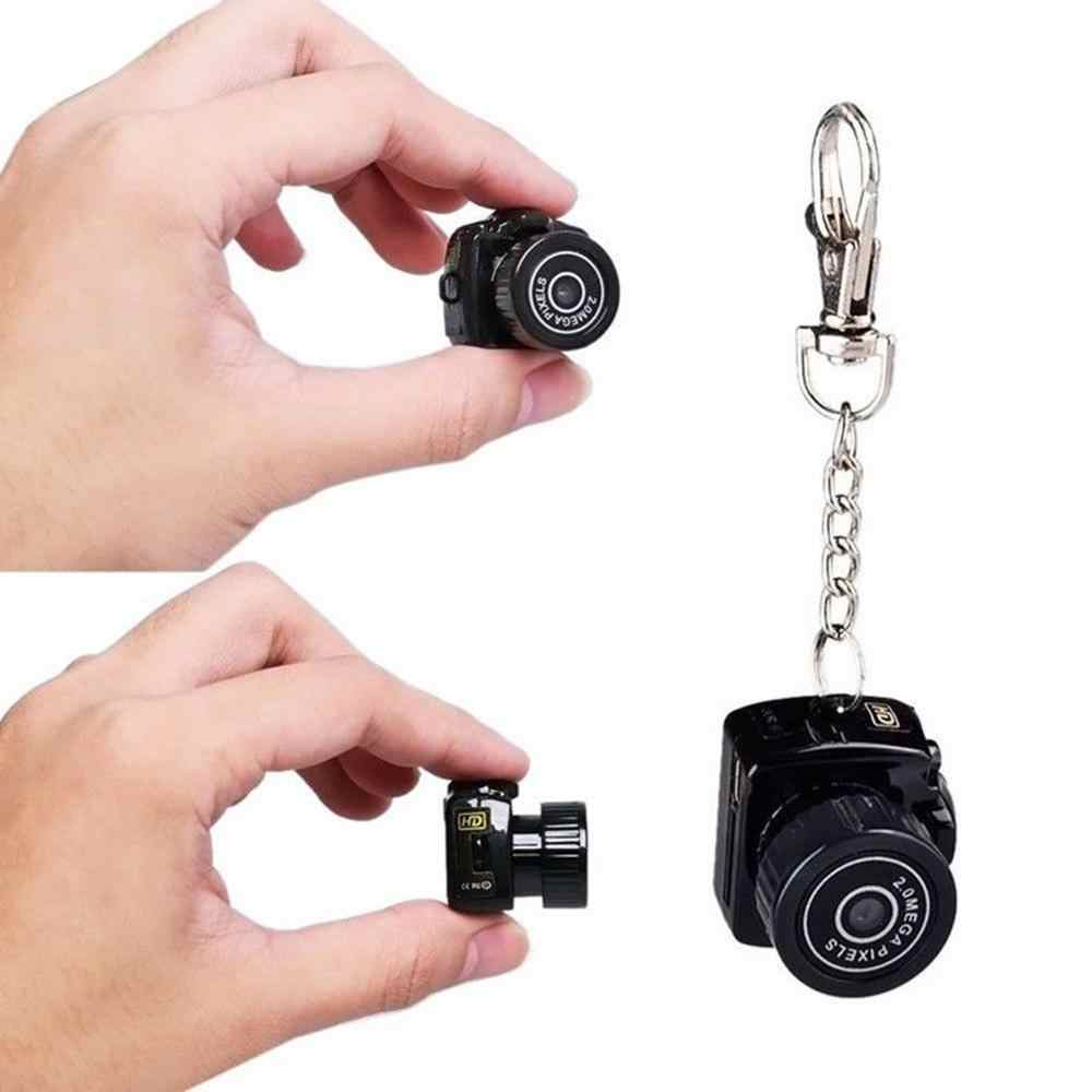 Y2000 Mini Kamera Kamera HD 1080P Mikro DVR Kamera Taşınabilir Webcam Video Ses Kaydedici Kamera