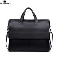 Luxury Brand Leather Men Bags Vintage Business Leather Briefcase Men S Briefcase Mens Travel Bags Tote
