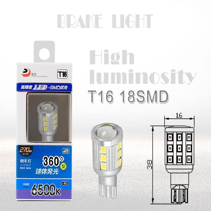 T16 18SMD LED svjetla za vožnju unazad Stražnja svjetla Automobili - Svjetla automobila - Foto 1