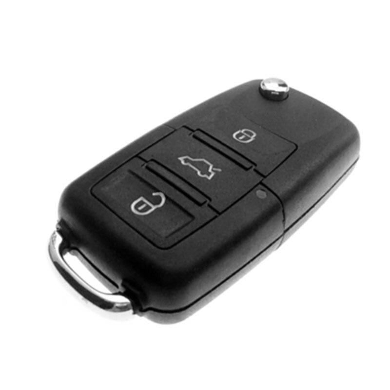3-Button Car Key Pill Box Safe Secret Compartment Stash Key Shell For Club Outings Secret Stash Box 37*22mm