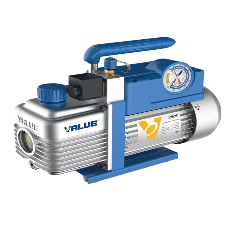 2L 3.6m3/h 370 W Bomba de Vácuo Novo Refrigerante V-i240SV Bombeamento Bomba de Ar Condicionado Filtro para R410 R407C, r134a, R12, R22