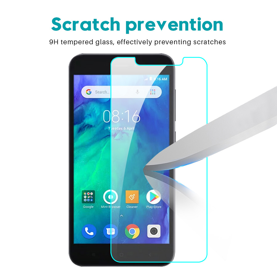 Image 4 - 2pcs Original Glass For Xiaomi Redmi Go Screen Protector Protective Glass on xiomi xaomi xaiomi ksiomi go Safety film 2.5d glas-in Phone Screen Protectors from Cellphones & Telecommunications