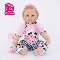 2018 New Design Newborn Baby Doll reborn 55cm/ 22 Inch Reborn Baby girl Real Life Living Doll Toys