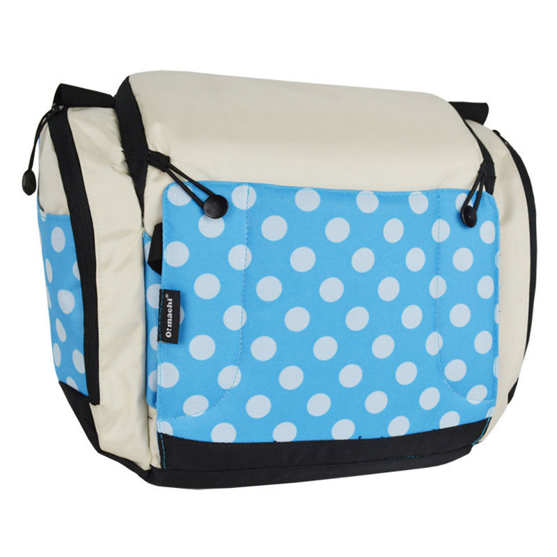 Bolsa portátil para pañales, bolsa para cochecito, bolsa plegable para cuna, bolsas para bebé, bolsas para mamá, cama de viaje para bebé de almacenamiento de - 3