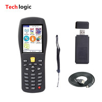 Techlogic Q7 CCD Wireless Barcode Scanner Inventory PDA Handhold Terminal Scanner Supermarket and Warehouse Logistic Bar Gun