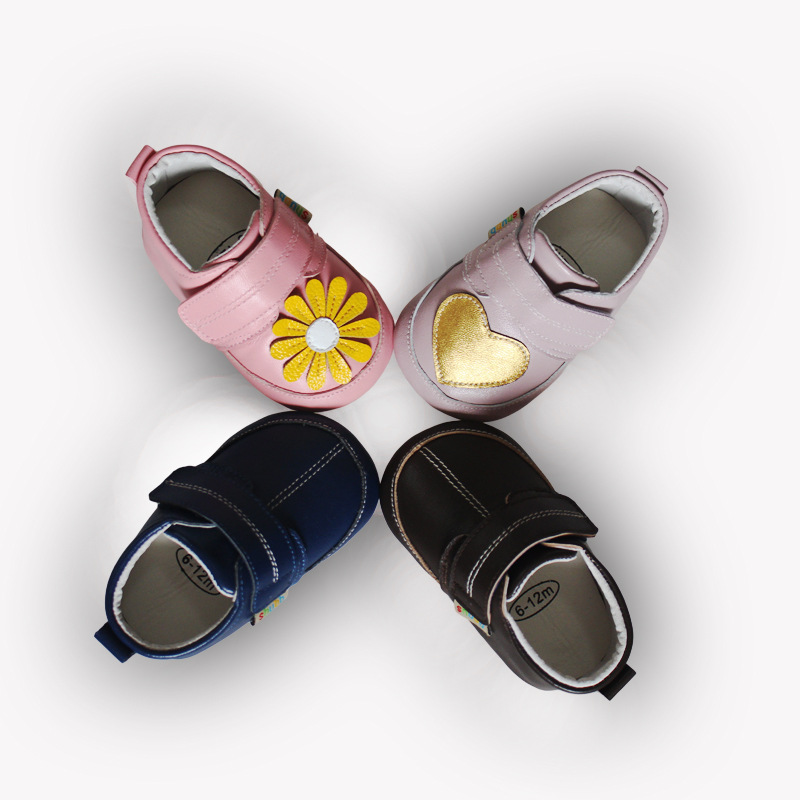 New Leather Baby Moccasins Toddler Infant Footwear Anti-slip Soft Sole spring and autumn Baby Shoes fashion First Walkers