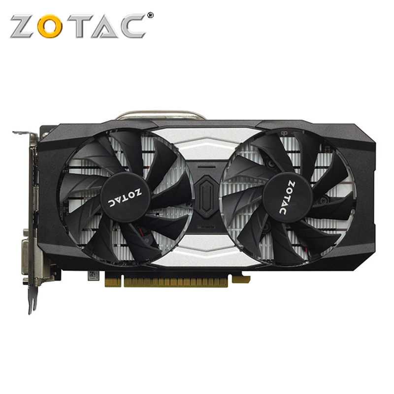 ZOTAC GTX 1050Ti 4GB Graphics Card GPU GTX1050 Ti 4GB OC Video Card Map for GeForce nVIDIA GTX1050Ti Overclock 128Bit Videocard image