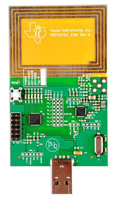 TI Original Factory Evaluation Board NFC TRF7960/7961/7962/7963/TRF7970A