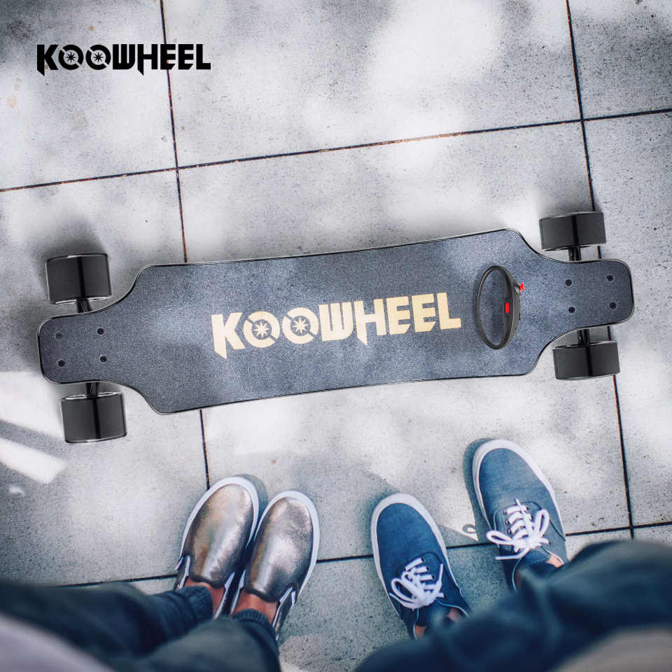 Koowheel 4 Wheel Electric Skateboard Onyx Electric Longboard Dual Hub Motor  Skateboarding 2nd Gen Upgraded Electrico Hoverboard